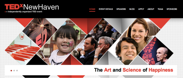 a conference on the art and science of happiness taking place at yale university
