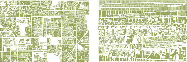 Can You Tell a City By Its Blocks?